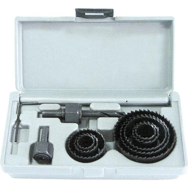 Купить Сверло корончатое MEGA 26409, набор 11 предметов 19-64 мм