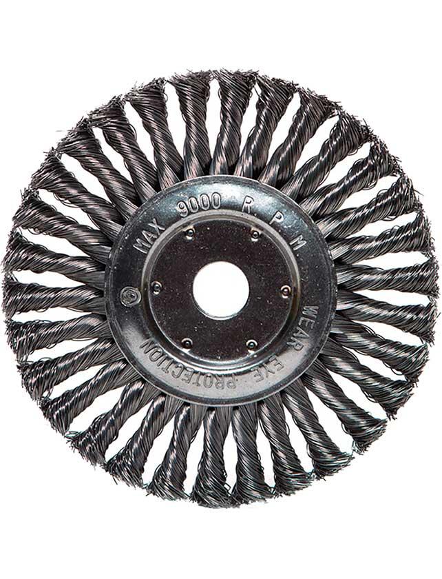 Купить Щетка радиальная проволочная FALCON 50619713, диаметр 178 х 22 мм