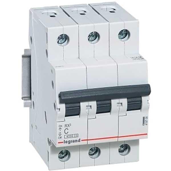 Купить Выключатель автоматический RX3 3P C50A 4, 5кА C 419713 Legrand
