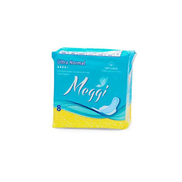 Купить Женск. г/прокл. MEGGI Ultra Normal 8 шт., арт. MEG 628