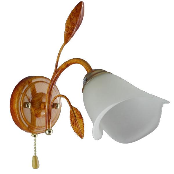 Купить Светильник настенный (бра) Магнолия 9901А/1-R дерево белый Н РБ ООО Белсветоимпорт