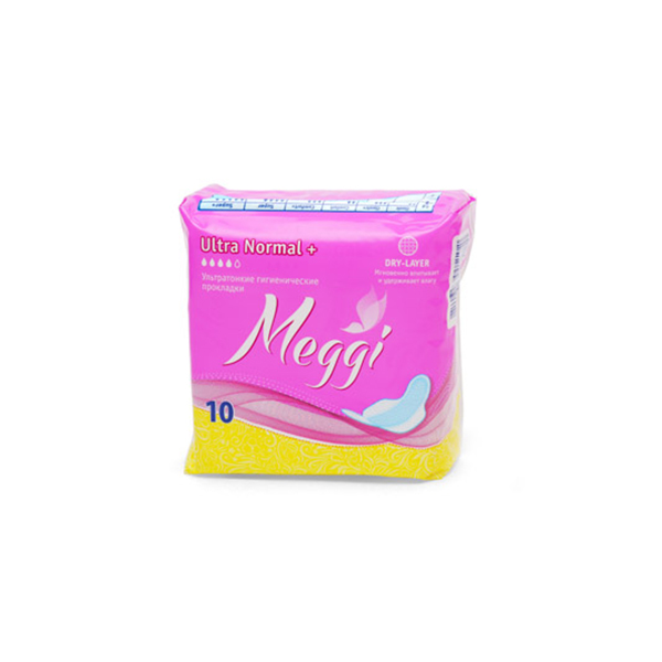 Купить Женск. г/прокл. MEGGI Ultra Normal Plus 10 шт., арт. MEG 531