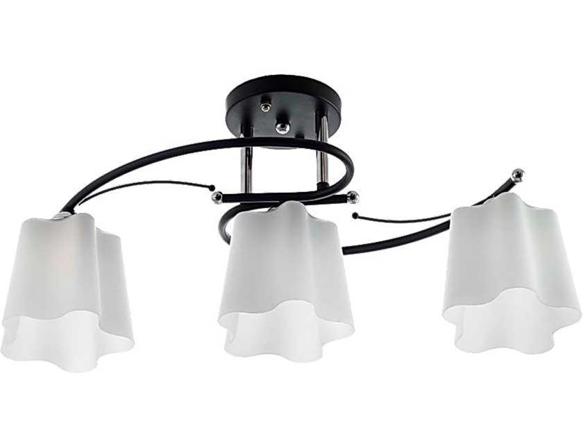 Купить Светильник подвесной (CL) НПБ 02-3х60-101 C709/3 хром/черный (3*60Вт, Е27) Айтин-Про