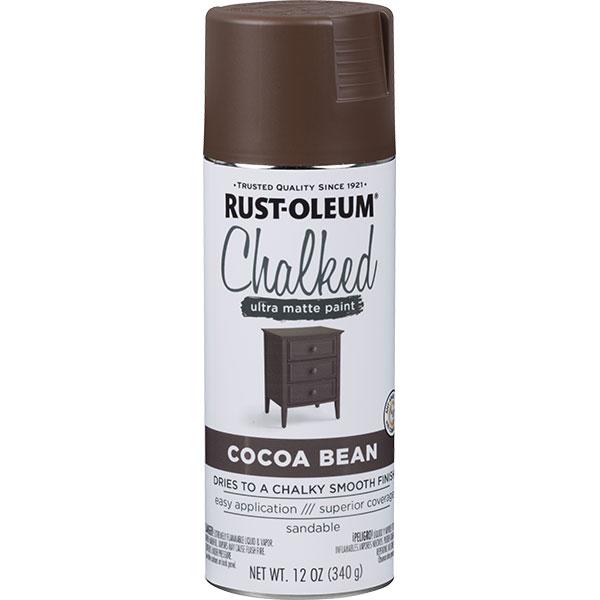 Купить Краска CHALKED RUST-OLEUM с эффектом винтажной пастели какао 0, 34кг