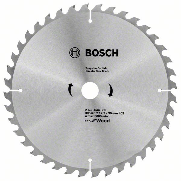 Купить Пильный диск Bosch ECO WO Z40 2608644385, 305/30 мм
