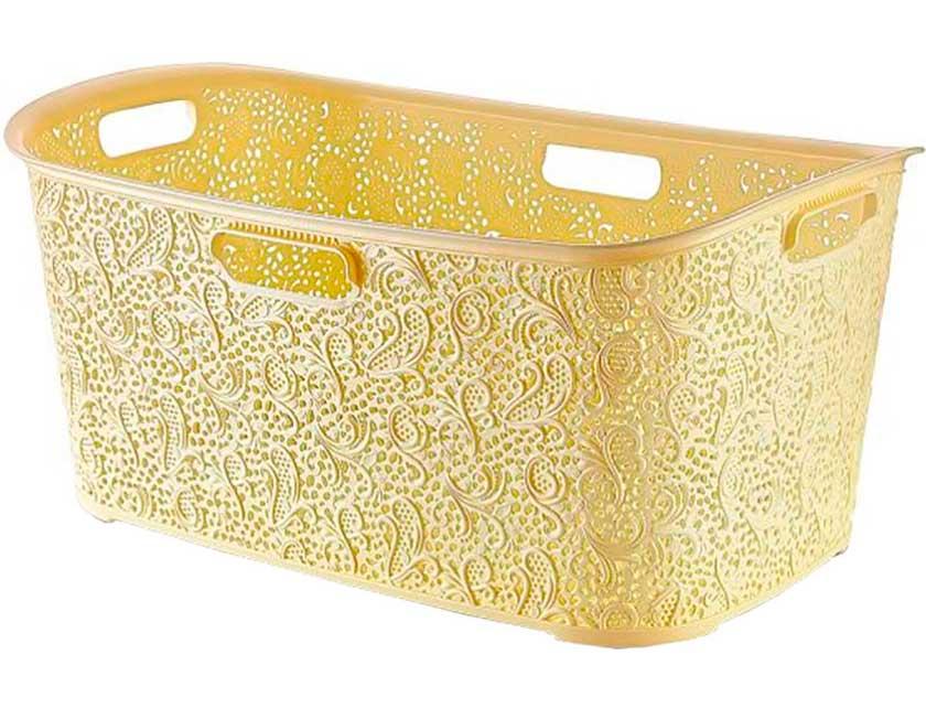 Корзина декоративная Floria Lace 08 1072, 38, 5х59х27, 5 см, 40 л  - купить со скидкой