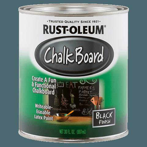 Купить Краска Rust Oleum Specialty с эффектом грифельной доски чёрный 0.946л