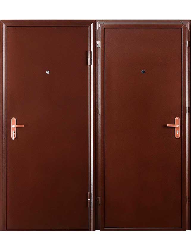 Купить со скидкой Двери металлическая ПРОФИ-2050/850/R