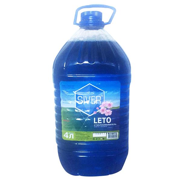 Купить Стеклоомыватель SIVER LETO сакура, 4 литра