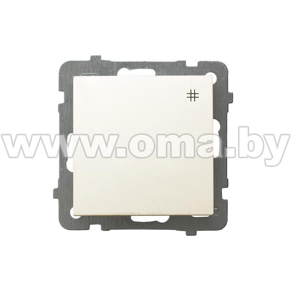 Купить OSPEL AS сл.к. Выключатель 1-кл. крестовой LP-4G/m/27
