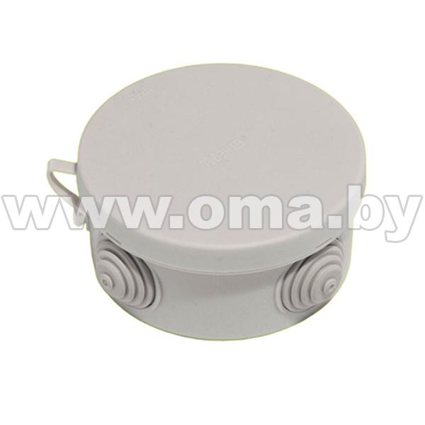 Купить Коробка монтажная, разветвительная для откр. установки круглая КР2602-И (г/р Ф94, 6х44)мм HEGEL