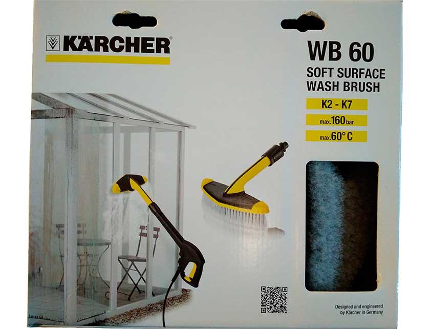 Купить KARCHER Щетка мягкая WB60 д/больш.поверхн. к очист.выс.давл. 2.643-233.0